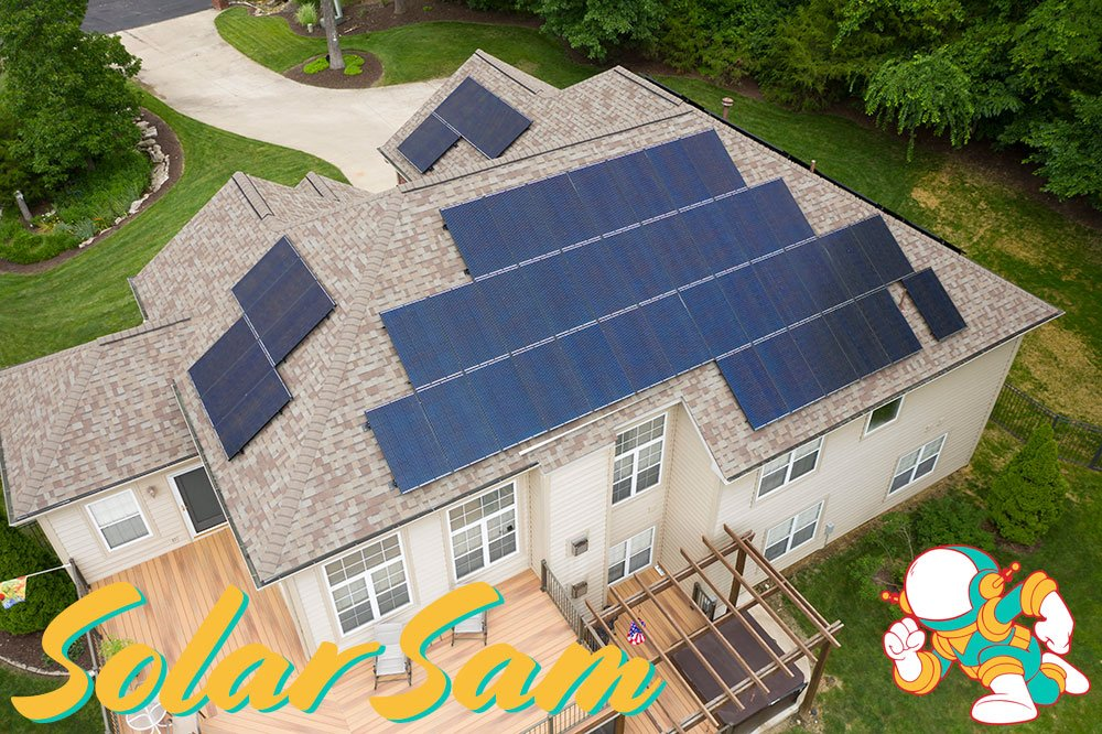 Rooftop Solar Panel Installation in Columbia Missouri by Solar Sam Professional Photovoltaic Panels Installers for Residential Home Agricultural or Commercial Applications