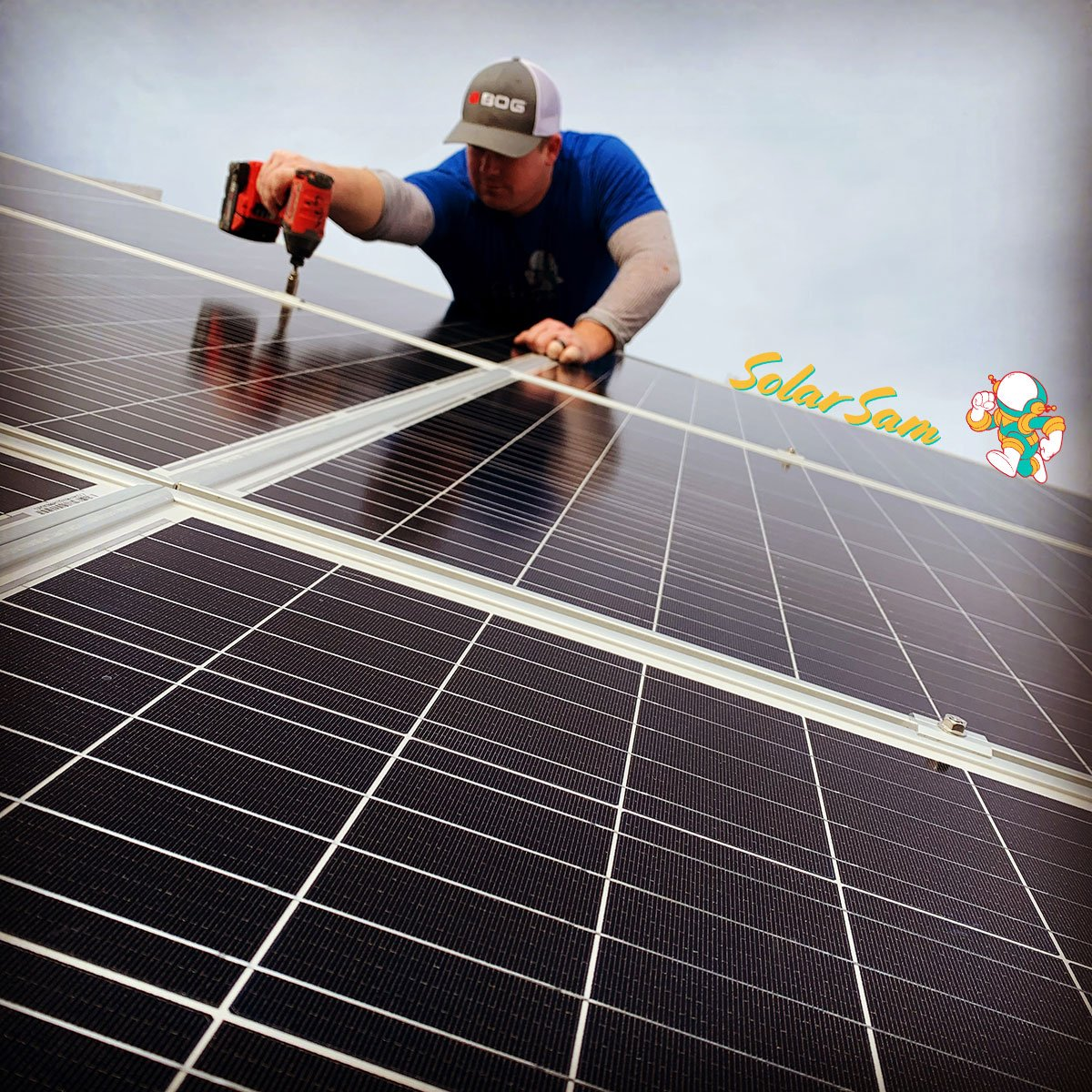 Behind-the-Meter Solar Installation in Missouri by Solar Sam Professional Solar Panel Installers for Energy Savings and Electricity Saving