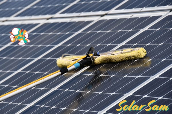 Solar Panel Cleaning in Missouri and Illinois by Solar Sam Professional Clean Panels Installation for Residential Commercial and Agricultural
