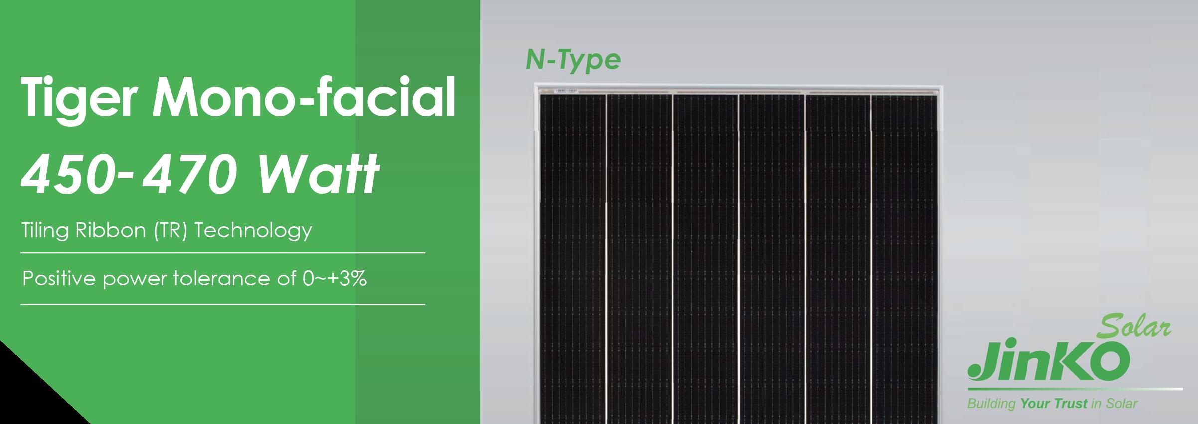 JinkoSolar Tiger Monofacial BiFacial 450-470 Watt Tiling Ribbon Technology Solar Panels Double the Electricity Missouri Illinois Solar Sam