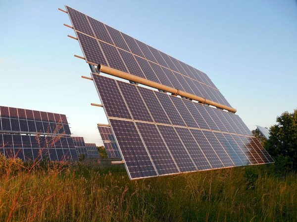 Bifacial Solar Panel Ground Mount with Professional Installation by Solar Sam, Serving Illinois and Missouri