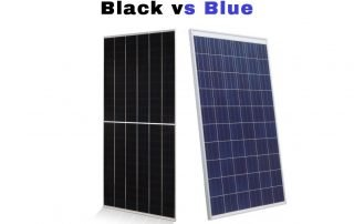 Black vs Blue Monocrystalline Solar Panels vs Polycrystalline Efficiency Warranty Heat Crystals HOA Solar Sam Professional Installer Missouri Illinois