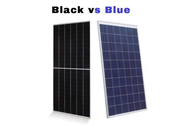 Black vs Blue or Monocrystalline Solar Panels vs Polycrystalline. Choosing for Efficiency, Warranty, Heat, and HOA Requirements. Contact Solar Sam, Professional Installer in Missouri and Illinois.