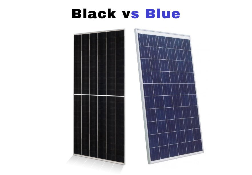 Black vs Blue Monocrystalline Solar Panels vs Polycrystalline Efficiency Warranty Heat Crystals HOA Solar Sam Professional Installer Missouri Illinois