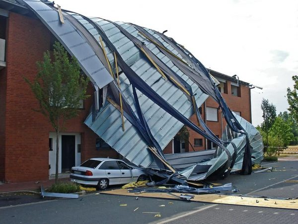 Tornado and Storm Damage Requires Roof Replacement and Solar Panel Removal and Reinstallation by Professionals Solar Sam in Missouri and Illinois