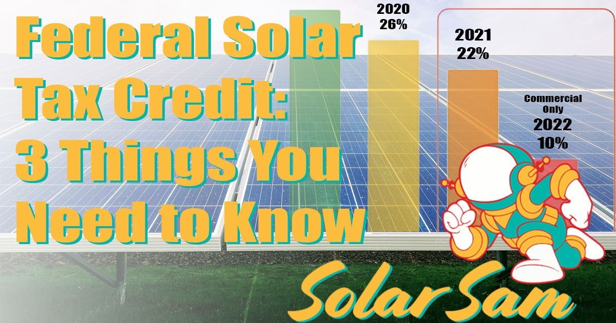 Federal Solar Tax Credit 3 Things You Need to Know Incentives Taxes Missouri Illinois Investment Tax Credit ITC Solar Sam Professional Installers social